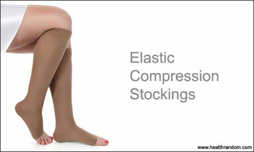 Elastic Compression Stockings