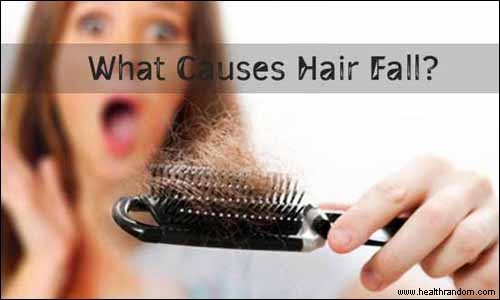 cause of hair fall